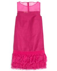 Giambattista Valli Sleeveless Ruffle Dress - Lyst