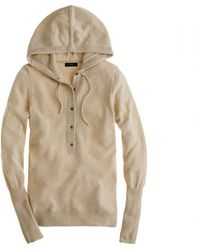J.Crew Collection Cashmere Getaway Hoodie - Lyst