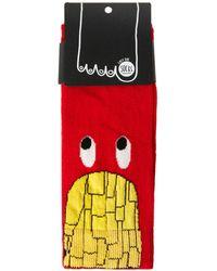 Lazy Oaf - French Fries Socks - Lyst