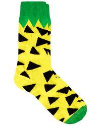 Lazy Oaf - Pineapple Socks - Lyst