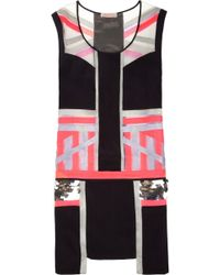 Sass & Bide High Amp Higher Embellished Silk Shift Dress - Lyst