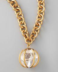Kelly Wearstler - Quartz Pendant Necklace - Lyst