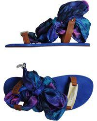 Avec Moderation Sandals - Lyst