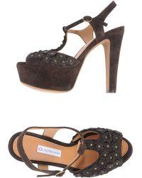 L'Autre Chose Platform Sandals - Lyst