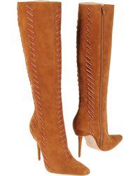 Manolo Blahnik Highheeled Boots - Lyst