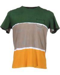 Roberto Collina Short Sleeve Tshirt - Lyst