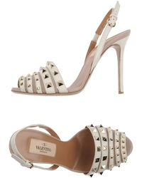 Valentino Highheeled Sandals - Lyst
