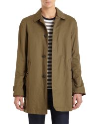 Burberry Brit - Langley Top Coat - Lyst