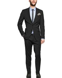 Dolce & Gabbana Stretch Wool Blend Suit - Lyst
