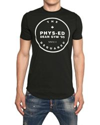 DSquared² Physed Dean Gym Cotton Jersey Tshirt - Lyst