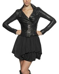 Givenchy Nappa Plongè Leather Jacket - Lyst
