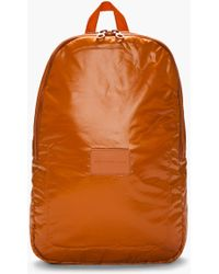 Marc By Marc Jacobs Orange Packable Padded Backpack - Lyst