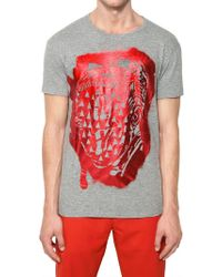 Marc Jacobs Printed Cotton Tshirt - Lyst