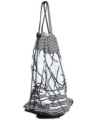 Neil Barrett Abstract Printed Nylon Foldable Backpack - Lyst