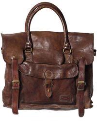 Officine Creative - Vintage Tucson Leather Messenger Bag - Lyst