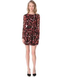 Rebecca Minkoff Laura Dress red - Lyst