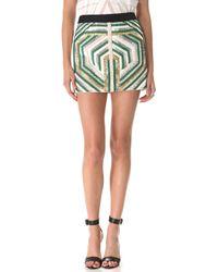 Sass & Bide - The Sequin Explosion Miniskirt - Lyst