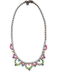Tom Binns - Bright Crystal Necklace - Lyst