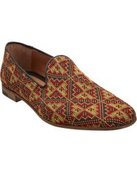 Endless Tapestry Wholecut Loafer brown - Lyst