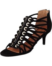 Givenchy Cage Zipback Sandal - Lyst