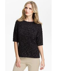Lafayette 148 New York Elbow Sleeve Sweater - Lyst