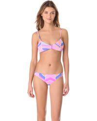 Zinke - Emmi Reversible Bikini Top - Lyst