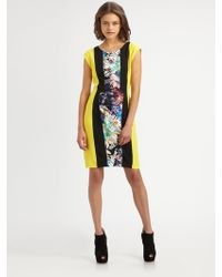 BCBGMAXAZRIA Meyna City Woven Dress - Lyst