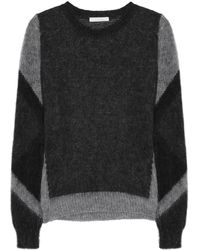 Chloé Paneled Sweater - Lyst