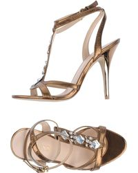 Guess Highheeled Sandals - Lyst