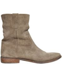 Isabel Marant 20mm Jenny Suede Boots - Lyst