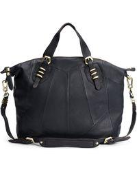 orYANY | Pebbled Leather Satchel | Lyst