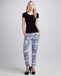 Sam & Lavi - Vivian Printed Drawstring Pants - Lyst