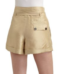 Twenty8Twelve - Swai Raw Silk Shorts - Lyst