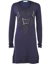 Almost Famous | Studded Jumper Dress | Lyst