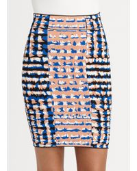 BCBGMAXAZRIA Emery Sweater Skirt - Lyst
