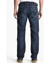 Diesel 'Waykee' Straight Leg Jeans blue - Lyst