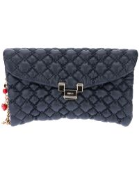 RED Valentino Quilted Clutch - Lyst