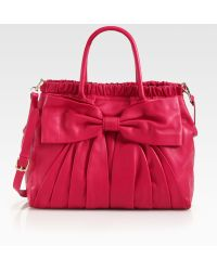 RED Valentino Bow Frame Satchel - Lyst