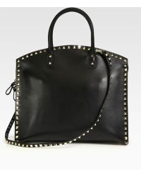 Valentino Studded Dome Tote - Lyst