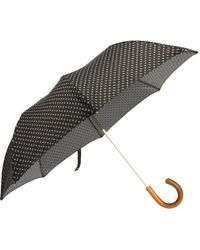 Barneys New York Mini Paisley Umbrella - Lyst