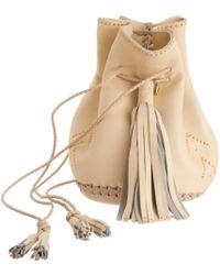 Wendy Nichol - Studded Chevron Bullet Bag - Lyst