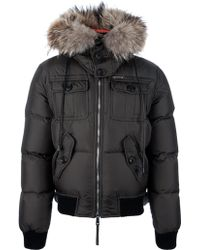 DSquared2 Padded Parka with Hood - Lyst