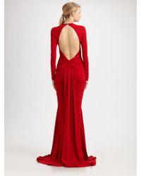Michael Kors Jersey Goddess Gown - Lyst