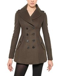 Burberry Prorsum - Wool and Cashmere Coat - Lyst
