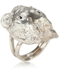 Dominique Lucas - Lion Ring - Lyst