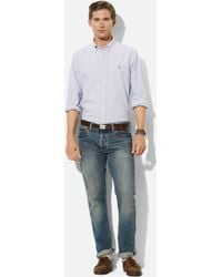 Polo Ralph Lauren Custom Fit Sport Shirt - Lyst