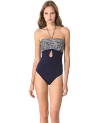 3.1 Phillip Lim Gathered Halter One Piece - Lyst