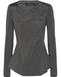 Donna Karan New York Folded Ponte Jacket - Lyst