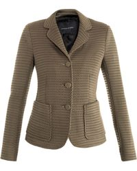 Jonathan Saunders - Windsor Mesh Tailored Jacket - Lyst