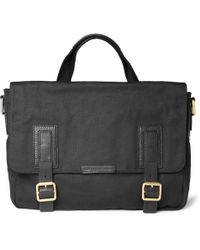 Marc By Marc Jacobs - Robbie G Leathertrimmed Canvas Messenger Bag - Lyst